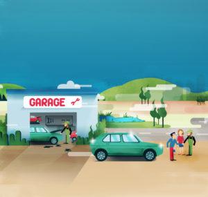 où trouver un garage auto