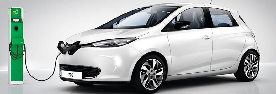 Installation de bornes de recharge pour voiture hybride